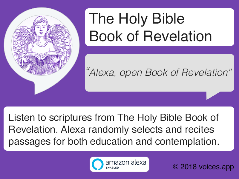 Amazon Alexa Skill: The Holy Bible Book of Revelation
